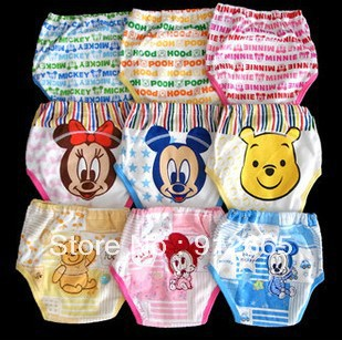 NEW 27pcs/lot 3 layers baby training pants infant briefs underwear kids underpants diaper nappy cover<br><br>Aliexpress