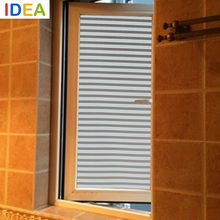[ IDEA ]^_^High Quality 45x100cm Shutter Opaque Vinyl Frosted Privacy Film Window Film Decorative Smart-Film-Glass Raamfolie(China (Mainland))