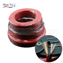 Buy Copper 18AWG, 2 pin Red Black cable, PVC insulated wire, 18 awg wire, Electric cable, LED cable, DIY Connect, extend wire cable for $10.24 in AliExpress store