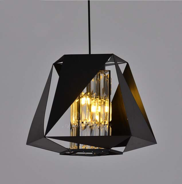 Buy American Modern Iron Pendant Lights With Iron Lamp Shade