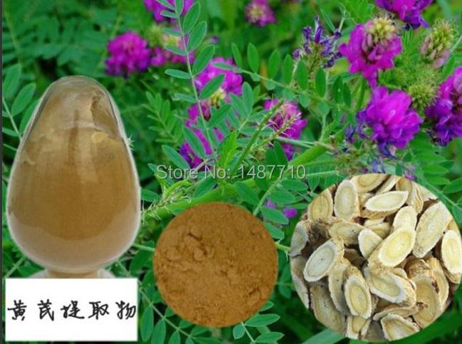 Фотография 1kg free shipping 100% Nature Astragalus root extract 50% polysaccharide UV