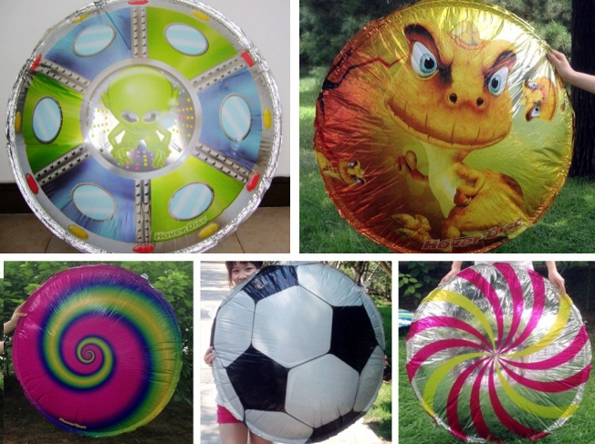 Novel 1pcs Kids/Children's Outdoor Toys UFO Suspension Frisbee Creative Inflatable Flying Disc Sport Games Diameter 80-90cm(China (Mainland))