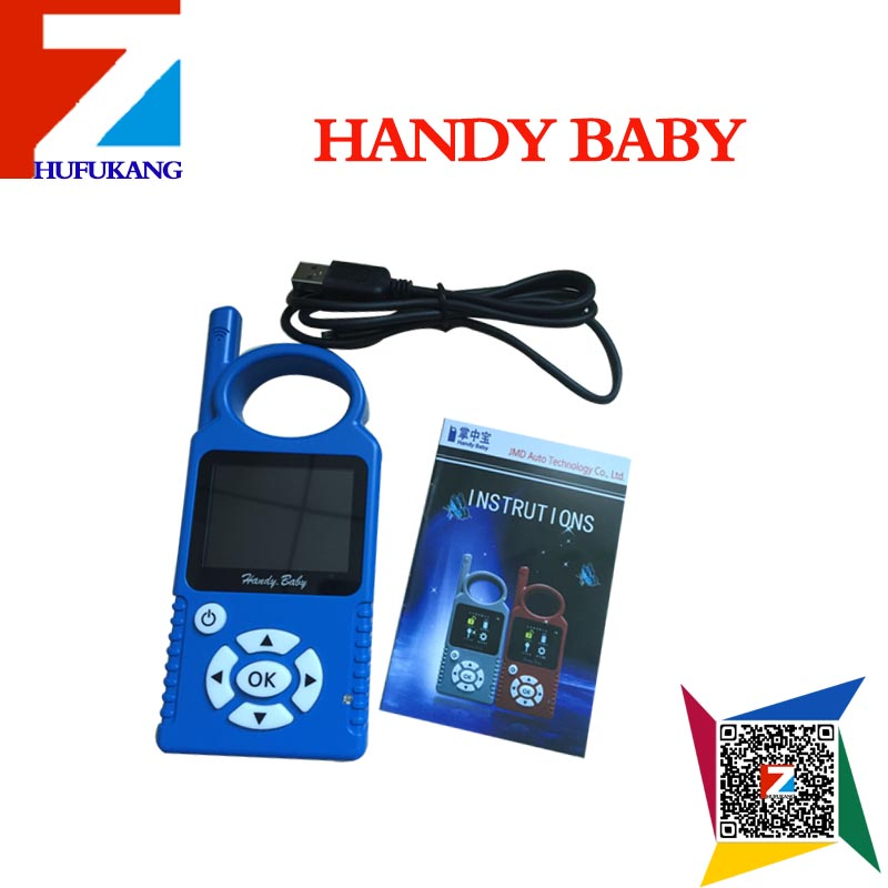 Hot seller handy baby English version Handy Baby Hand-held Car Key Copy Auto Key Programmer for 4D/46/48 Chips(China (Mainland))