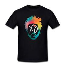 Buy Summer Cotton Mens T-shirt Abel Tesfaye Weeknd XO Print T Shirts Tees Tops Fashion Cotton T-Shirts 100% Cotton Short Sleeve for $13.99 in AliExpress store