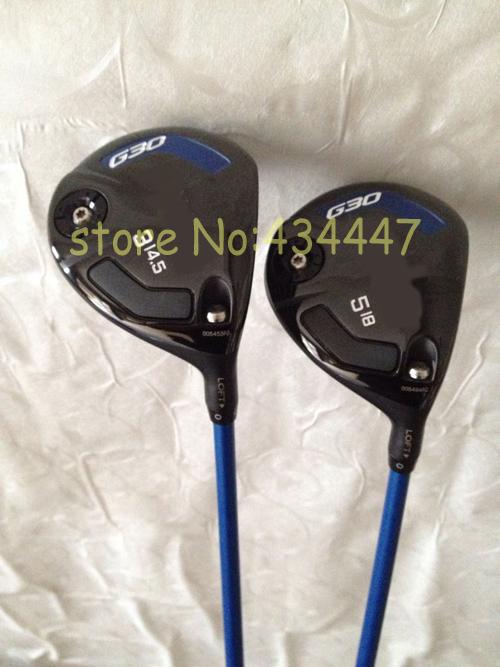 2015 golf clubs G30 fairway woods 3# 5# regular flex free headcover 2pc G 30 golf woods right hand(China (Mainland))
