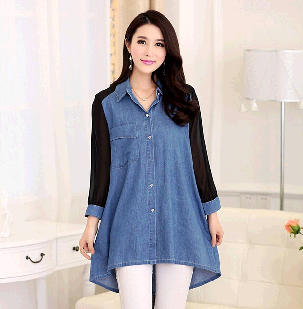 Womens Long Shirts