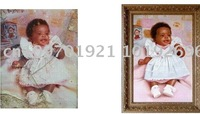 Free Shipping!High Quality Custom Art Children Oil Painting From Photo on Canvas art picture on wall