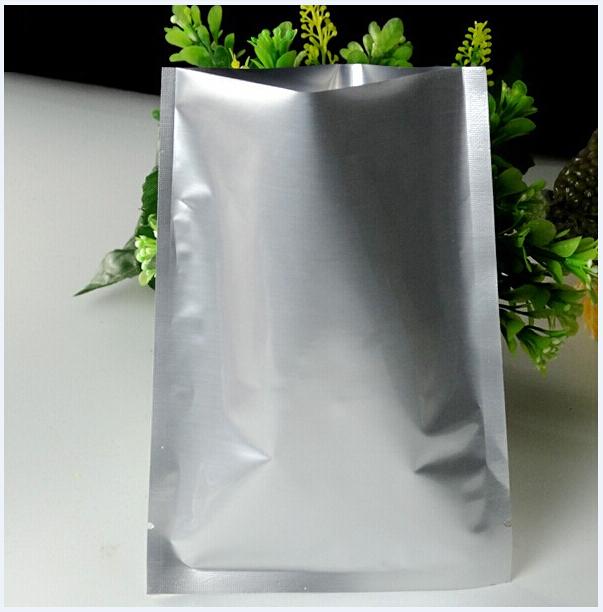 12*18cm Silver Aluminum Foil Mylar Bag, Bakery Packing bags , food packaging bags , plastic packing bags(China (Mainland))