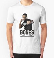 Jon Jones Mens T shirts 2016 Summer T Shirt Men MMA Fashion Slim Mens Short Sleeve Cotton Casual T-shirt Hip Hop T shirt