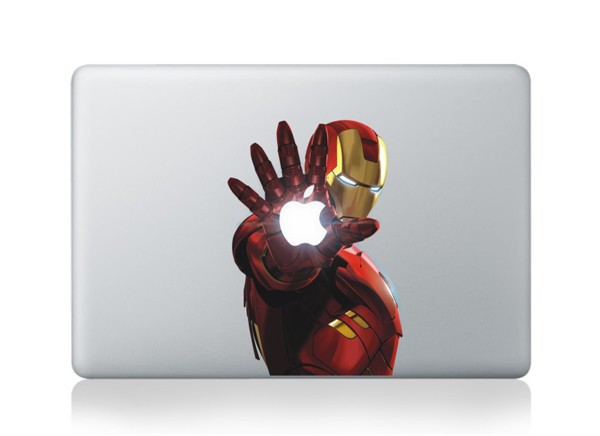 Laptop Skin for Macbook Pro 11 13 15 17 Super Hero Iron Man Vinyl Laptop Sticker