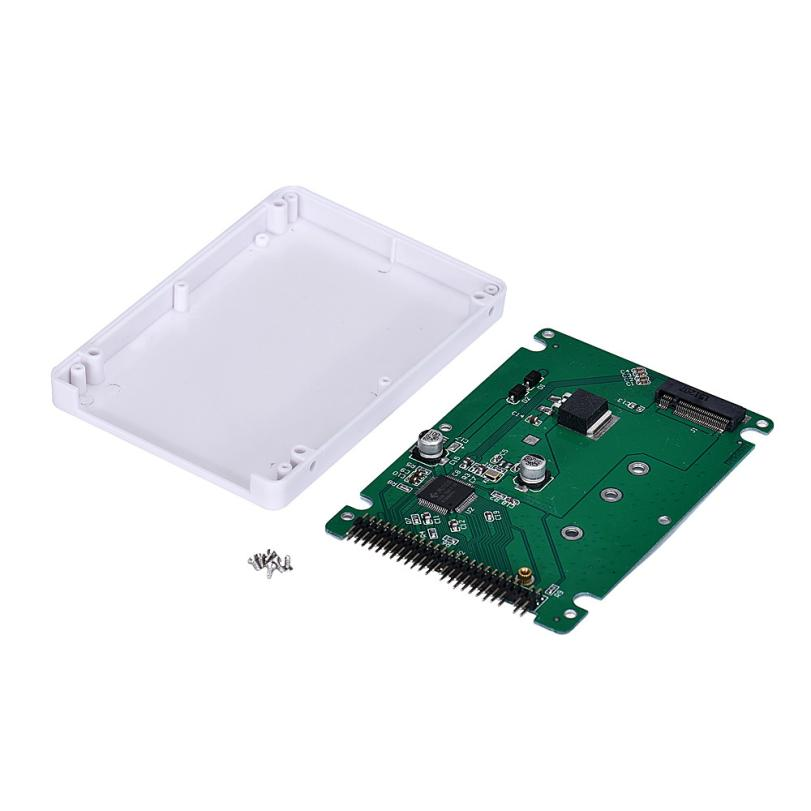 Del NGFF SATA SSD To 2.5 IDE Converter Adapter With Case Mar11<br><br>Aliexpress