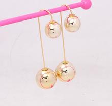 Wholesale Newest Hook Drop Earrings Fashion Big Long Drop Earrings For Women  Mix Gold Drop Earrings(China (Mainland))