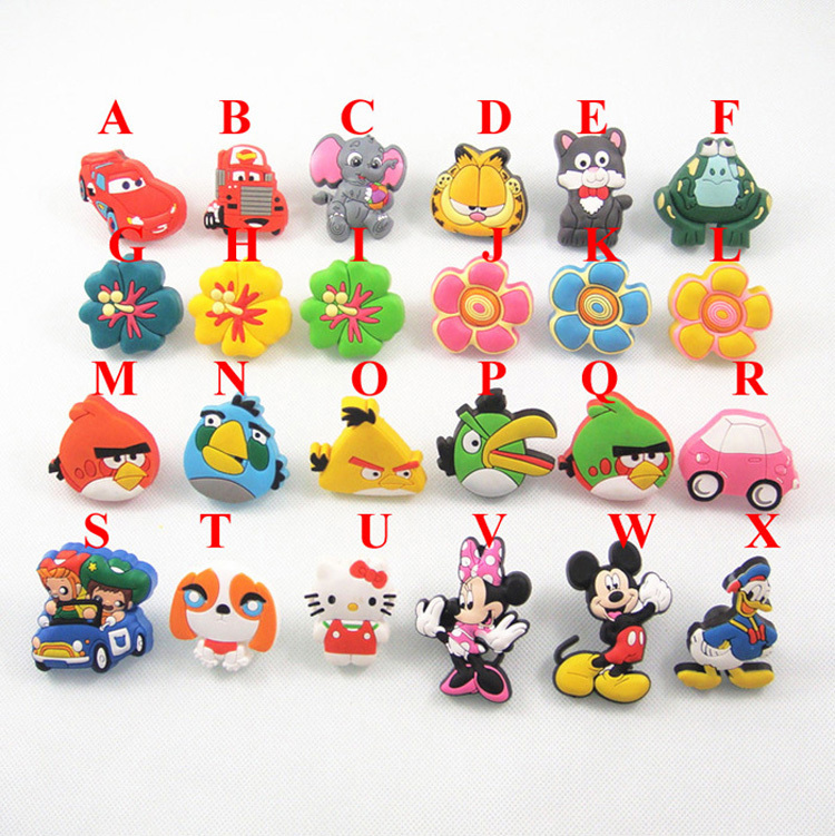 10PCS Soft Rubber Cute Cartoon Cabinet Cupboard Door Handles Knob Kids Room Furniture Handle Wardrobe Dresser Drawer Pulls