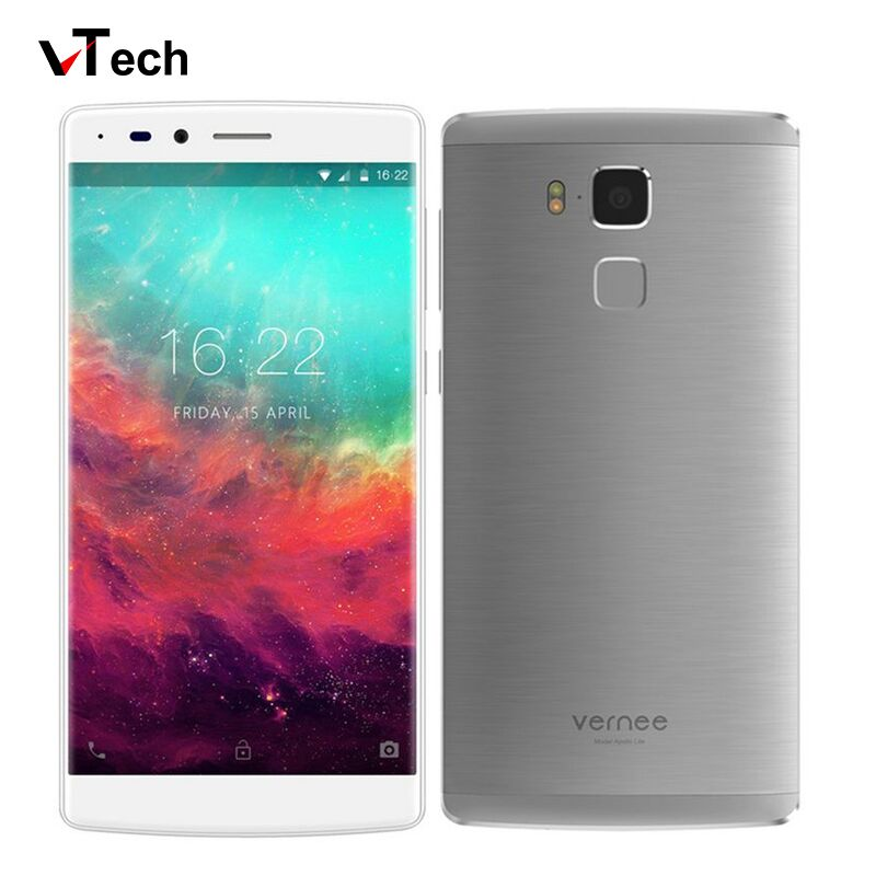 """Vernee Apollo Lite 4G 5.5"""" FHD 1920*1080 Smartphone Deca Core 2.3GHz MTK6797 Android 6.0 4GB+32GB 16MP Fingerprint Mobile Phone(China (Mainland))"""