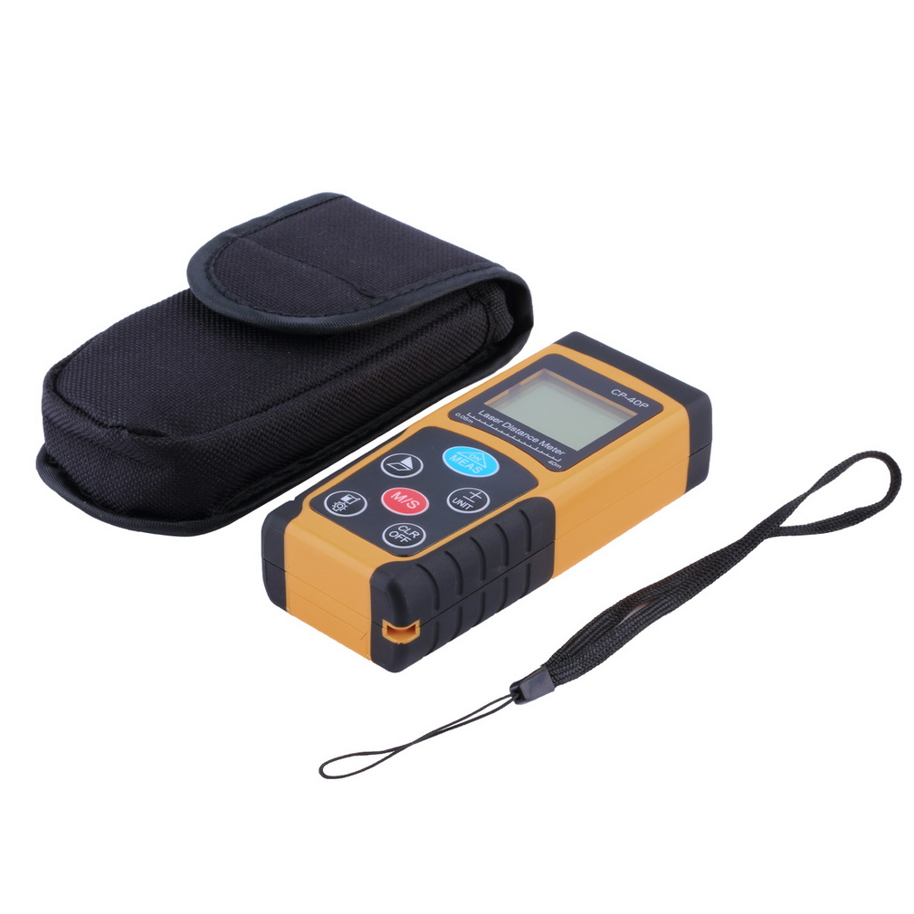 High Quality Search CP-40P 40 m High-precision Handheld Digital IR Laser Distance Meter Range Finder Diastimeter 110x45x25mm hot