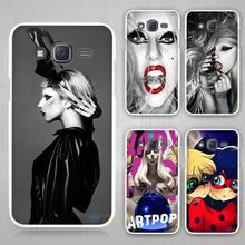 lady gaga mariano vivanco Hard White Case Cover Samsung Galaxy J1 J2 J3 J5 J7 C5 C7 C9 E5 E7 2016 - Madivan store