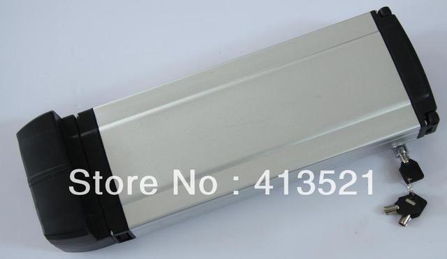 36v 10ah rack type E-bike li-ion battery+charger