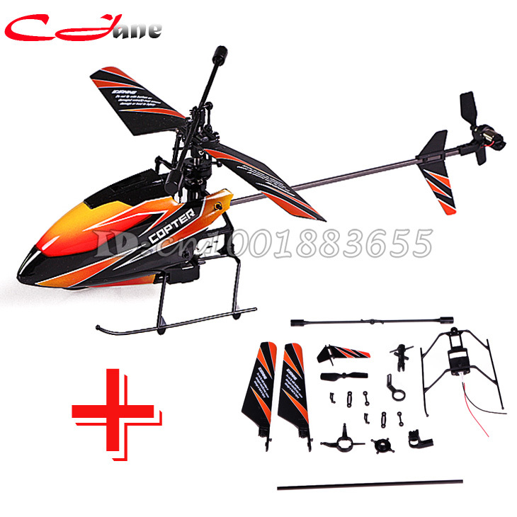 Free shipping Single V911 2.4G 4CH RC MINI Helicopter Outdoor V911 new / old version Plug + V911 spare parts for WL Toys(China (Mainland))