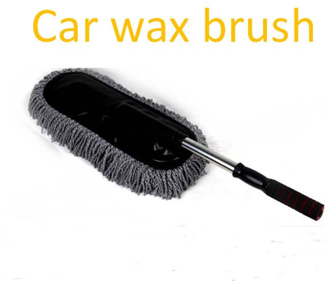 car brush wash mop duster wax drag retractable wax brush car cleaning products free drop. Black Bedroom Furniture Sets. Home Design Ideas