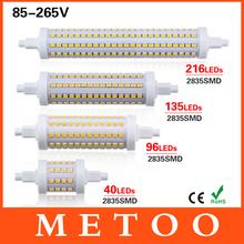 Dimmable R7S Led Light Samsung 2835 SMD 110V 220V Lampada Led Lamp 78/118/130/190mm Replace Halogen Floodlight Cob Spotlight(China (Mainland))