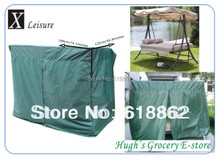 Free shipping Green cover 190 cm length with zipper patio swing chair cover-190(China (Mainland))