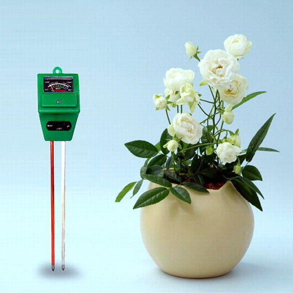 Soil hygrometer Soil pH meter light meter Soil PH Tester Moisture meter Light Meter 3-IN-1 Plant Flowers