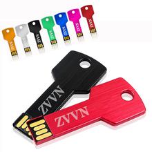 Buy Pendrive 128GB Colorful Key Waterproof mini key model 4GB 8GB 16GB 32GB 64GB USB Flash Drive Stick Flash Pen Drive U disk 16 gb for $3.99 in AliExpress store