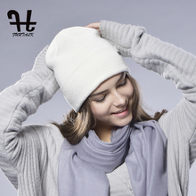 FURTALK unisex women's Spring Wool Watch Cap Spring Beanie Knitted Hat Skull Cap Women Wool Hat(China (Mainland))