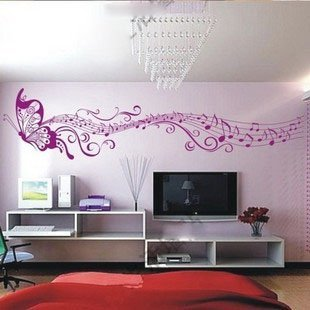 Free Shipping Wholesale And Retail Home Garden Wall Decor Sticker Decoration Vinyl Removeable Art Mural Home Decor,d-35