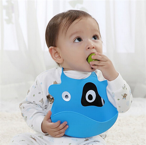 2015 Fashion Cartoon Soft Baby Bibs Saliva Towel Infants Convenience Health Silicone Waterproof Bib<br><br>Aliexpress