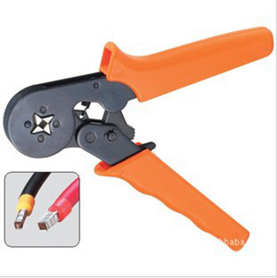 0.25-6mm2 Terminal Crimping Tool Bootlace Ferrule Crimper Wire end Cord end lug free shipping(China (Mainland))