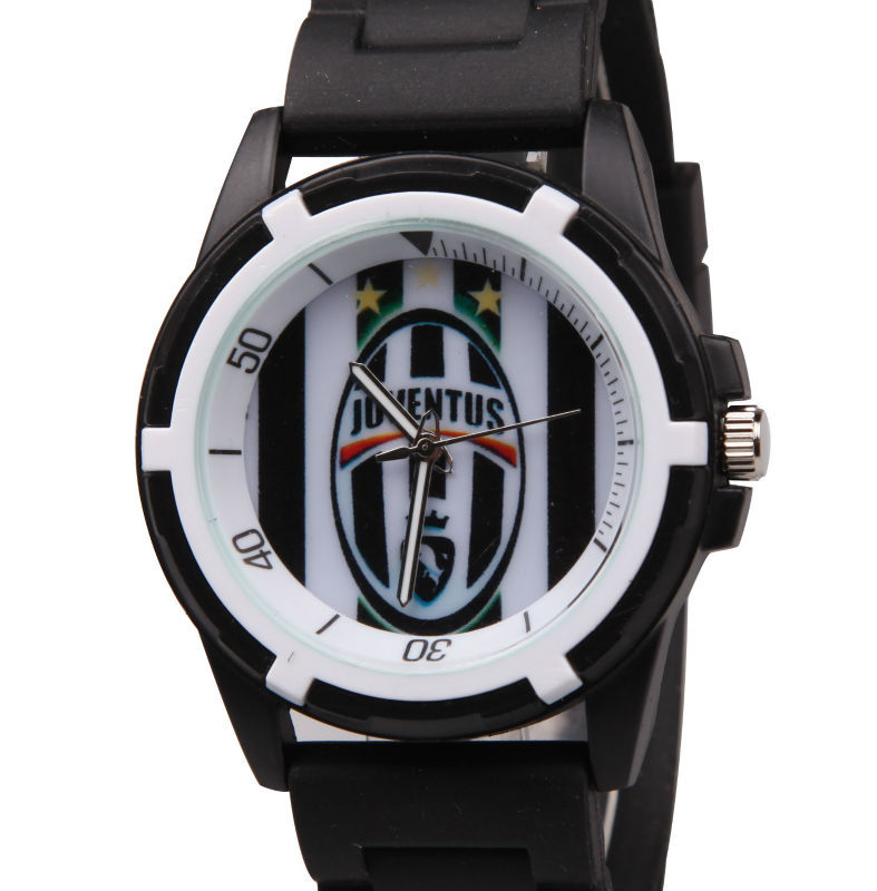 Гаджет  free shipping Juventus fans souvenirs male clock fashion casual mens sports watch silicone quartz wristwatches men watches 2015 None Часы