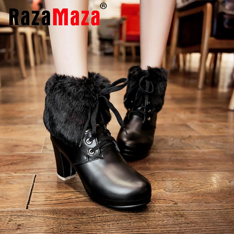 women high heel half short ankle boots party autumn winter botas fashion cotton footwear boot heels shoes P19783 size 34-39<br><br>Aliexpress