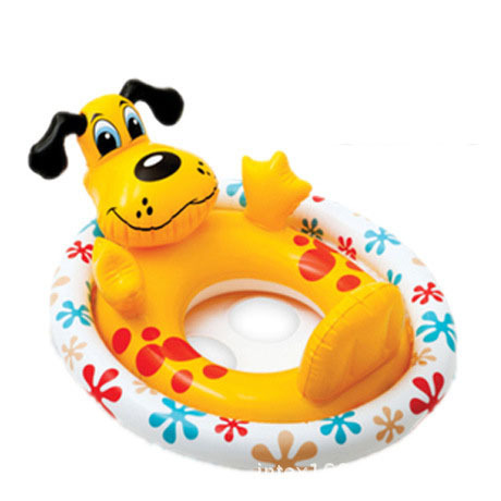 High Quality baby swimming ring for children, baby inflatable pool float cute animal, circle to swim babies 1-5 years old(China (Mainland))