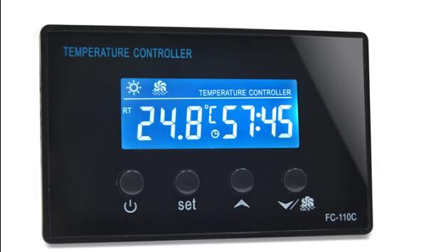 Free shipping !0104 MINI saunathermostat foot barrel thermostat bath steam drum digital temperature controller 220V 10A(China (Mainland))