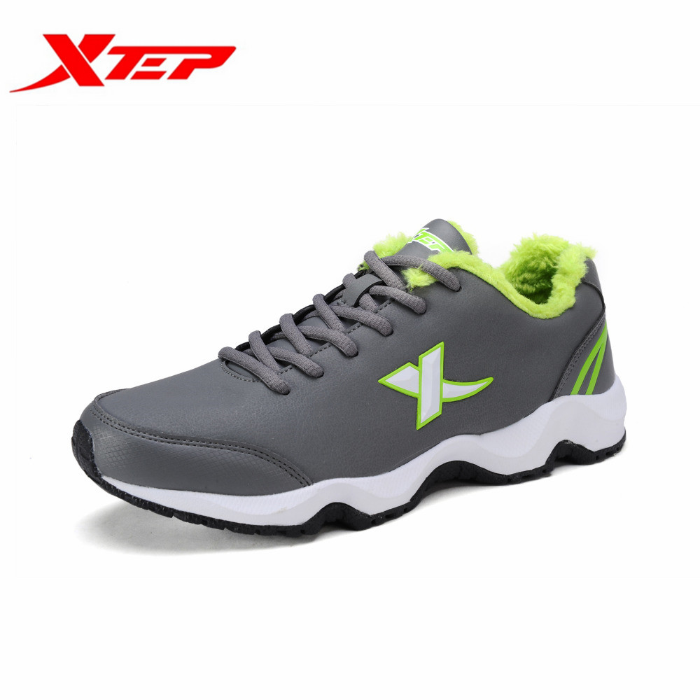 Xtep Mens Outdoor Sport Fleece Inside Lace-Up Running Shoes Autumn Winter Warm Comfortable Sneakers 986419379509B3G19<br><br>Aliexpress