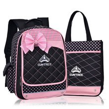 New Fashion Children School Bags Infantil Bolsas for Girls Backpack Female Kid Bag Child Printing Backpacks for Teenage Girls(China (Mainland))