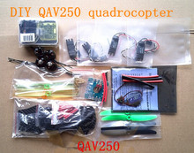 FPV Mini DIY QAV250 through racks drone + CC3D + 10AESC 4PCS +1806 2300kv motor + Carbon frame + gift