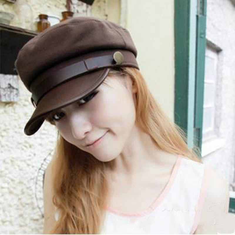 2016 Military Hats Types Adult Woman And Man Fashion Army Cap Flat Caps Gorras Snapback Vintage Captain Hat Sailor(China (Mainland))