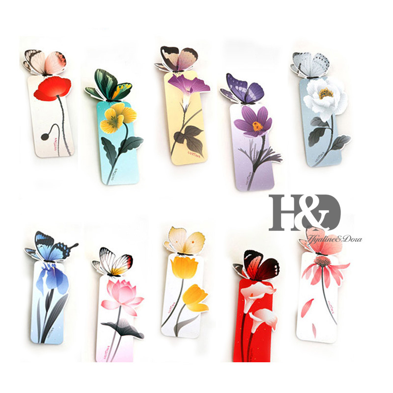 3D Creative Various StylesDancing Butterfly Bookmark Pequeno Principe Beautiful Birthday Gift Book Mark Christmas Exquisite Gift(China (Mainland))