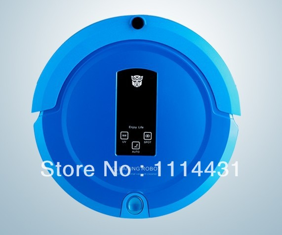 Robot Vacuum Cleaner Wholesale (Auto Sweep,Vacuum,Mop,Sterilize),LCD Touch Screen,Schedule,2-Way Virtual Wall,Auto Charging(China (Mainland))