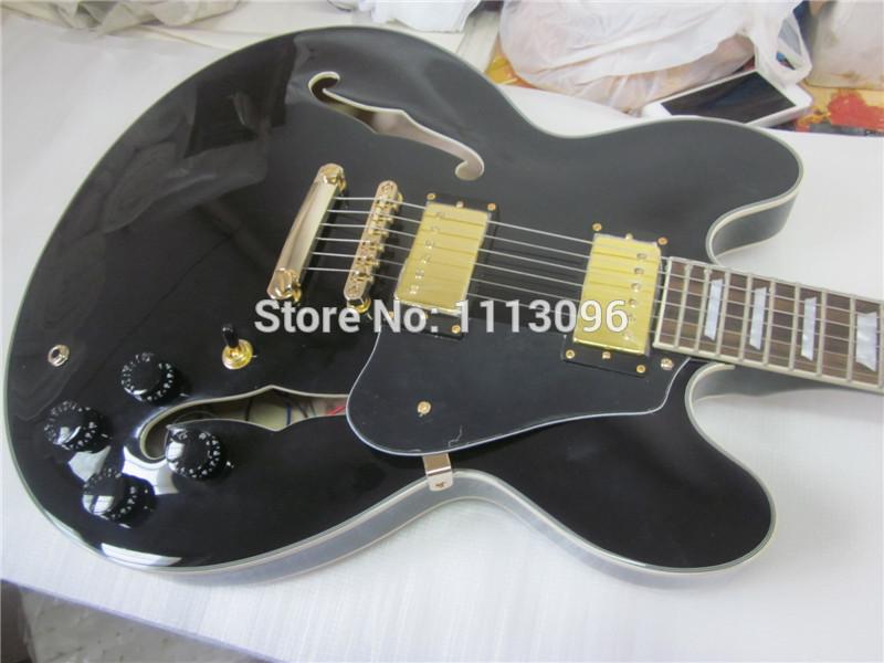 FREE SHIPPING lp electric guitar/hollow jazz guitar+GUITAR IN CHINA(China (Mainland))