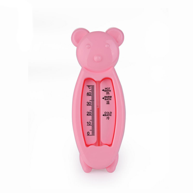 2016 Floating Lovely Bear Baby Water Thermometer Float Baby Bath Toy Thermometer Tub Water Sensor Thermometer CSP-054 Baby Care(China (Mainland))