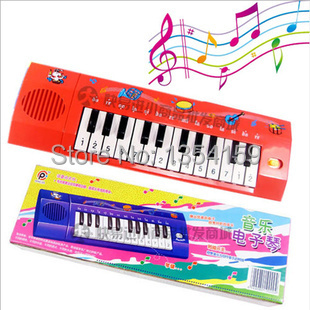 Free Shipping Toy piano music keyboard educational toys Children's toy Musical Instruments Electronic organ toys(China (Mainland))