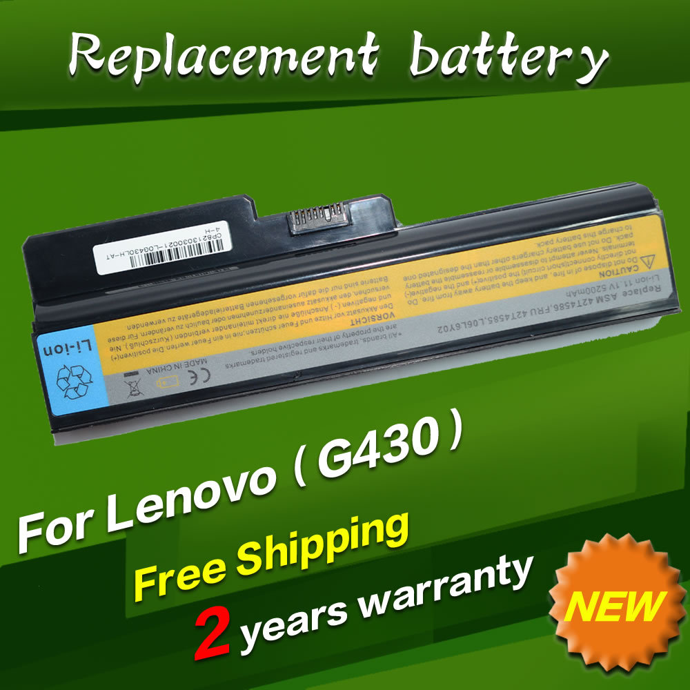 9 cells Laptop Battery For Lenovo 3000 G530 444 23U DC T3400 N500 Series IdeaPad B460