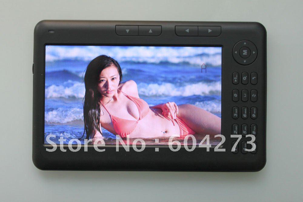 Wholesale 3pcs/lot 7inch ebook reader Menu language Audio player,Radio player,Bookmark function,Calendar function(China (Mainland))