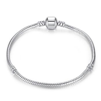 925 Silver Snake Chain Bracelet / Bangle