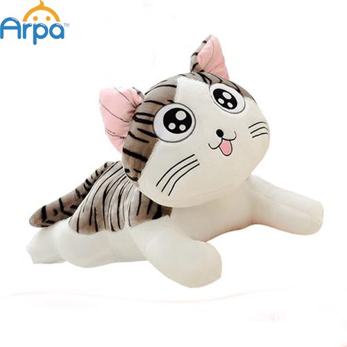 Sweet Home Plush Cat Kitten Toy Doll Pillow Wedding Birthday Gift For Girls 20cm(China (Mainland))