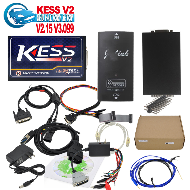 2016 KESS V2 OBD2 Manager Tuning Kit No Tokens Limited Master Version V2.15 Updated By CD/Link ECM_titamium_161 as gift.(China (Mainland))