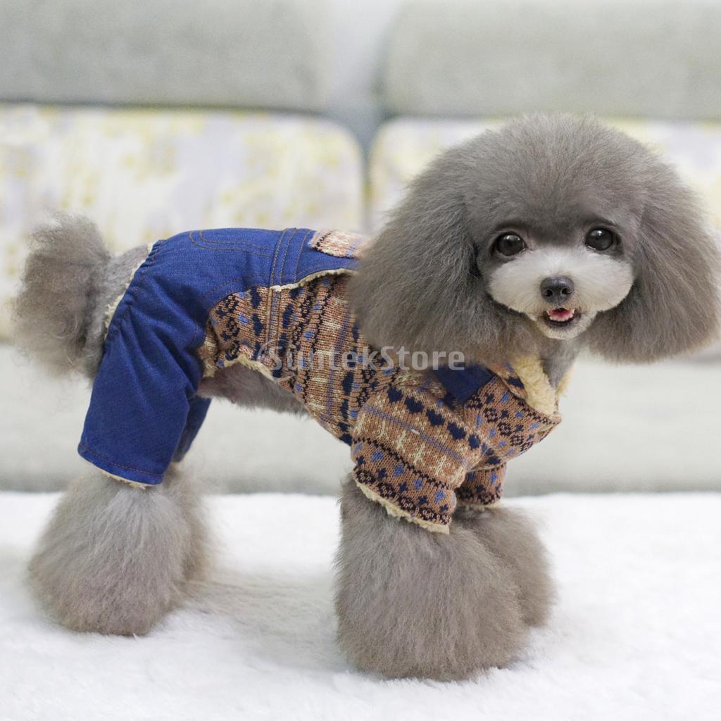 Dog Coat Sweater Jacket Pet Knitting Patterns Ebay ...